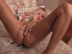 Big cock bangs hot pussy