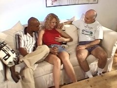 Sexy wife gang-banged