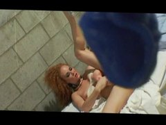 Slut in prison fucking a girl