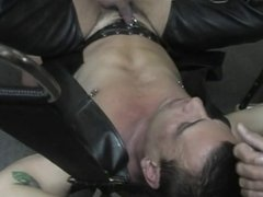 Gay lover gets two cocks in ass
