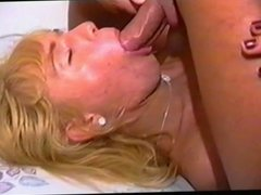 Blond tranny gets ass bonked