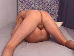 Hot slut getting her pussy waxed
