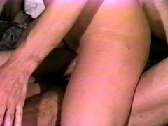 Hard dick ravages her fuck holes