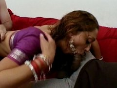 Indian chick in heat banged hard