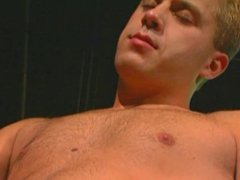 Horny man banged in the pool room