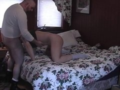 Man gives BJ and pounds bung hole