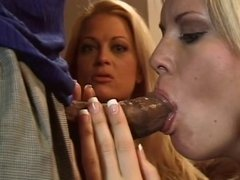 Anal blond whore ass cock plugged