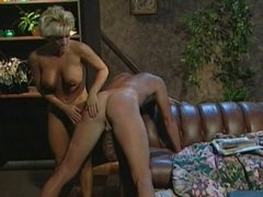 Blond mistress whips guys heine