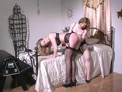 3 smoking hot chicks in spanking action