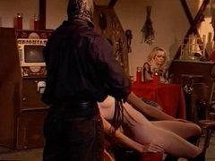 Riding crop teaches her a lesson