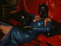 Cute slut in latex getting punished
