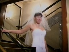 New bride sucks dick in honeymoon suite