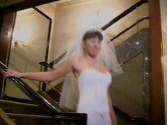 New bride sucks dick in honeymoon suite