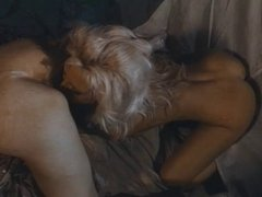 Lesbians go camping and lick pussy