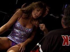 Oral orgy in the ring