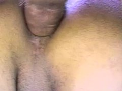 Hot young tranny gets her tits sucked by two guys then fucks