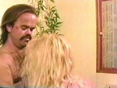 Hung midget fucks blonde bitch and sprays her with mini cum