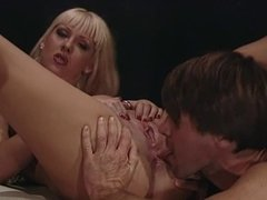 Hot blonde lifeguard gets her wet pussy licked