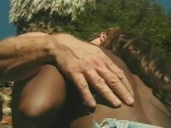 White dick fucks black pussy after chick gives BJ then gets face jizzed