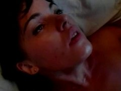 Fuck slut loves getting her pussy eaten and her nipples pinched