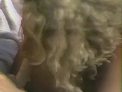 Curly haired blonde loves a big dick up her ass and a load in her mouth