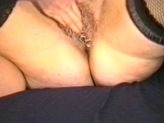 Hairy pussy interracial sluts love having all holes fucked