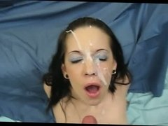 Great facial all over her face and eye