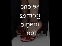 Selena Gomez feetcum