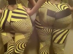 Hot Yellow Asses