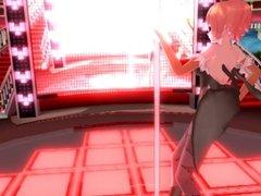 3D Succubus Strip Dance