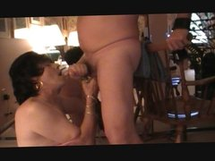 Crossdresser Drains Submissive Male