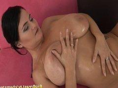 moms monster boobs