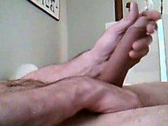 Big soft to Hard cock