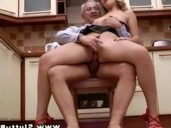 Horny babe getting her pussy fucked