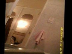Mi tia en el wc