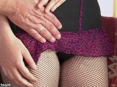 Parents seduce and bang their son's GF