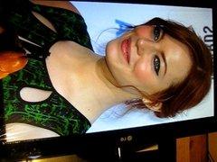 Emma Stone Cum Tribute No. 5