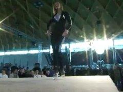 Pit Babes spandex, leggings, catsuit, Dancers
