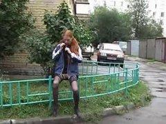 Public nude video