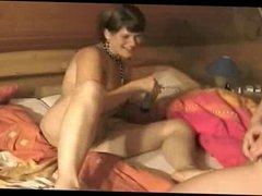 lesbian strap and fist