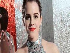 Emma Watson Gets Facialized