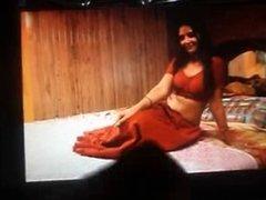 cum on shanti mallu actress