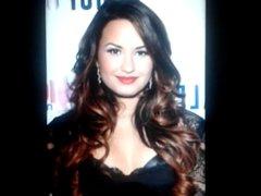 Demi Lovato Cum Tribute 3#