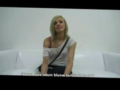 Blonde Czech Eva Hot Casting By TROC