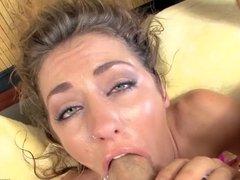 Sheena Shaw Deepthroating Balls Deep