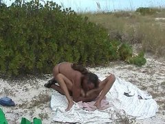 Jamie Tastes And Screws A Horny Beach Slut