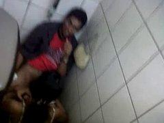caught in toilet