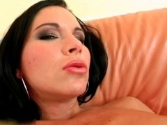 Hot lesbians go crazy making out