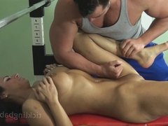 Jasimine Sinclair Tickling video