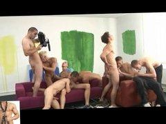 Gangbang - Young boys Orgy - Part 1-3